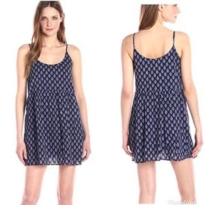 Soft Joie Vadim Printed Cotton Shift Tank Dress XS